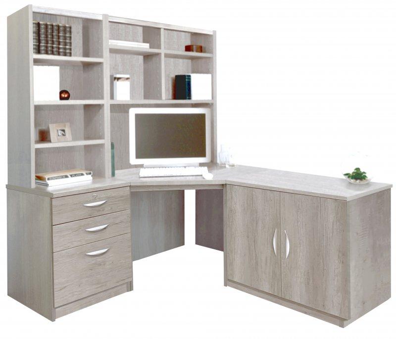 Corner Desk Cupboard Drawer Units, Office Corner Desk Units