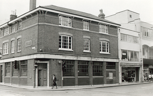 The old bank building now the Sittingbourne showroom